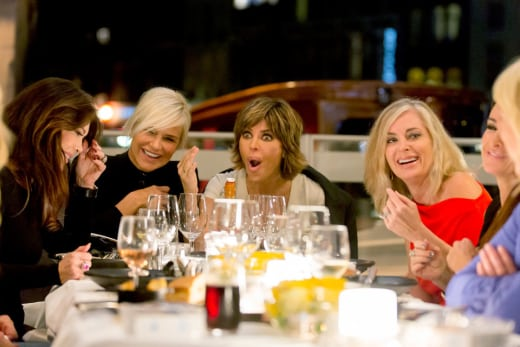 A Riverboat Dinner - The Real Housewives of Beverly Hills