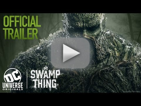 Swamp thing trailer dc universe turns to horror for latest drama
