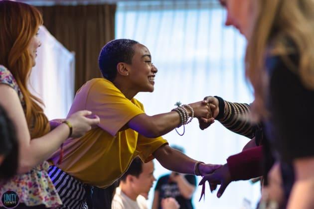 Tati Gabrielle at Unity Days  - The 100