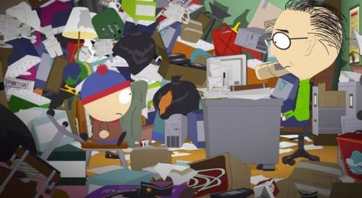 Hoarders on South Park