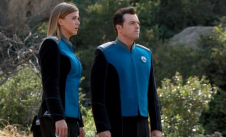 Captain and Ex. O. - The Orville Season 1 Episode 12