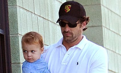 Patrick Dempsey: Out and About with Son!