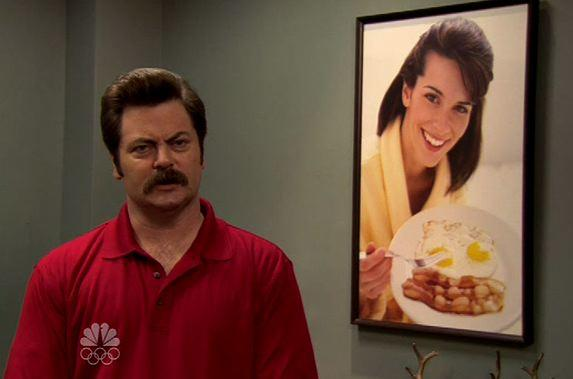 Ron and His Breakfast Woman