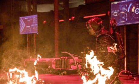 Wave Of Fire - Arrow Season 6 Episode 8