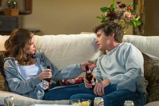 Claire & Eric dinner - A Teacher Season 1 Episode 5