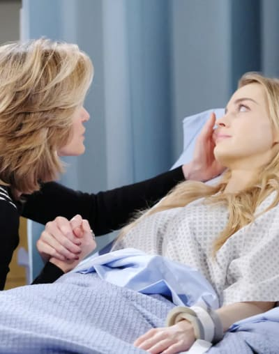 Claire Says Goodbye - Days of Our Lives