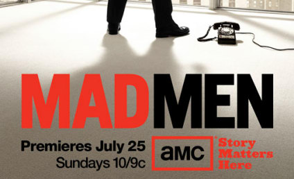 Mad Men Season Four Poster: The Lonely View from the Top