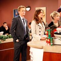 Barney and Robin on Line