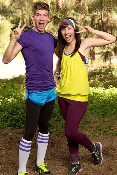 Joey Graceffa and Meghan Caramena