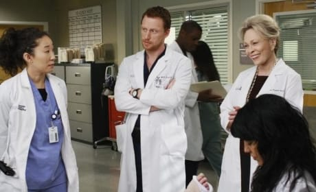 Cristina, Owen and Izzie