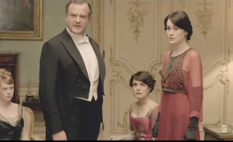 Angry Lord Grantham