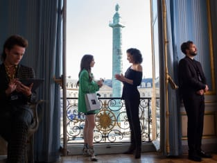 Meeting a Big Name - Emily in Paris