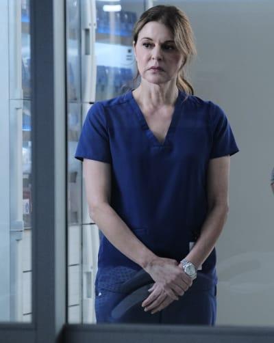 Kit Investigates - Tall - The Resident Season 4 Episode 3