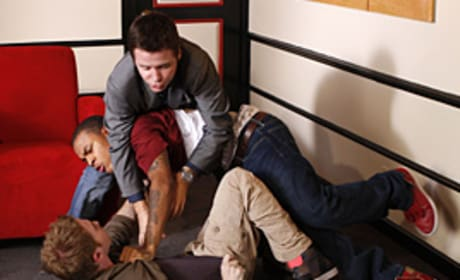 Charlie, Eric and Seth Fight