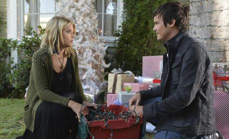 Hanna and Caleb  - Pretty Little Liars Season 5 Episode 12