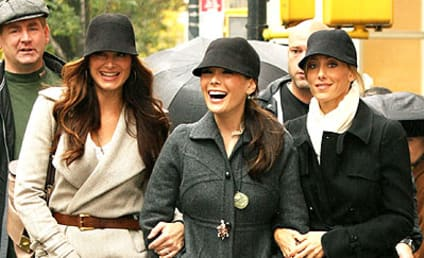 Three Lovely Ladies, One Hat