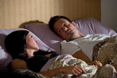 Jules and Grayson in Bed