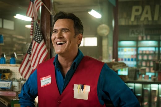 Welcome Back To Value Stop! - Ash vs Evil Dead