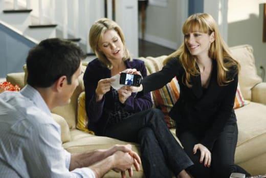 Judy Greer on Modern Family