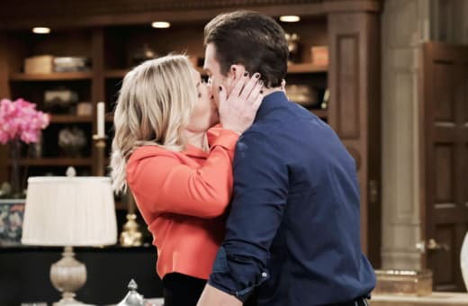 Sami Kisses Chad - Days of Our Lives