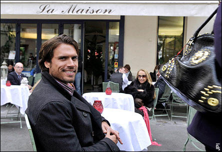 Joshua Morrow in Paris
