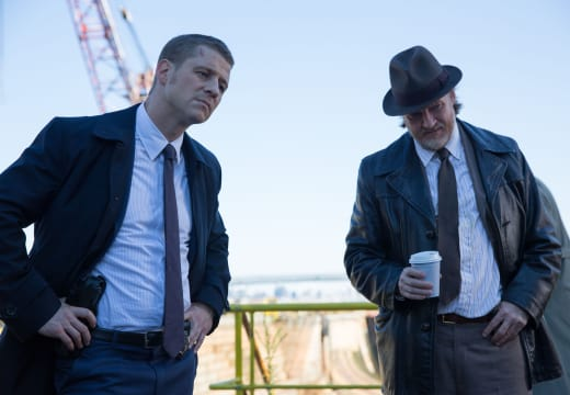 Gordon and Bullock on the Job - Gotham