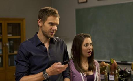 Jeff & Annie Look On In Shock