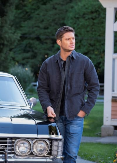 Dean and Baby - Supernatural Season 15 Episode 20