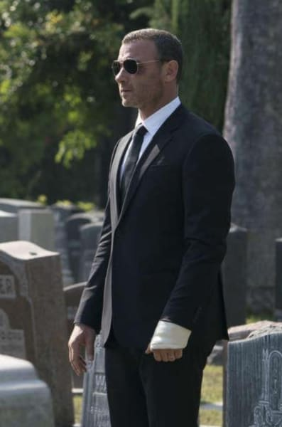 Ray Donovan in a Suit Season 5 Episode 12