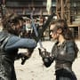 Lexa and Roan Battle - The 100 Season 3 Episode 4
