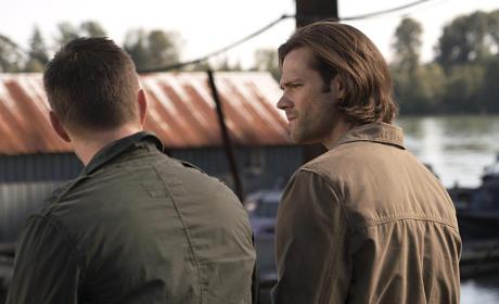 Sam and Dean take a break - Supernatural Season 11 Episode 5