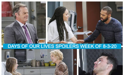 Days of Our Lives Spoilers Week of 8-03-20: All-Too-Fragile Family Bonds