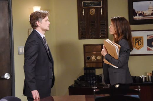Aiden Taunts Hope - Days of Our Lives