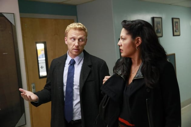 Making a Point to Callie - Grey's Anatomy Season 11 Episode 3