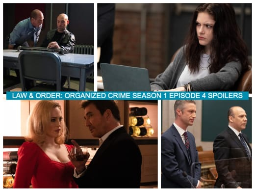 Spoiler Collage - Law & Order: Organized Crime Season 1 Episode 4