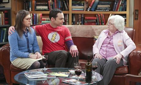 Meemaw Visits - The Big Bang Theory