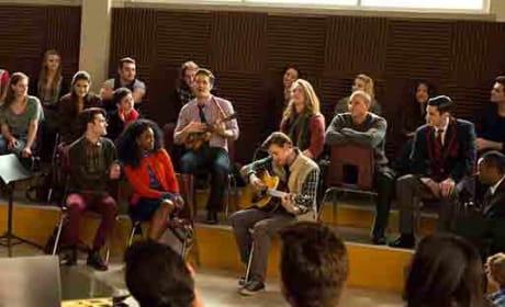 Jam Session - Glee Season 6 Episode 13