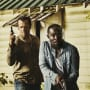 Hap and Leondard with guns - Hap and Leonard