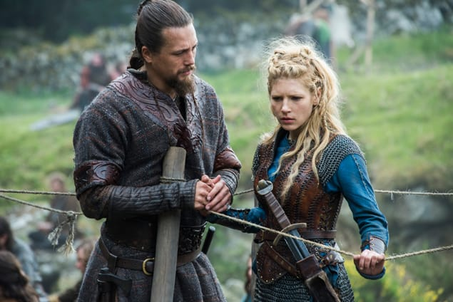 Lagerthas big news vikings s4e5