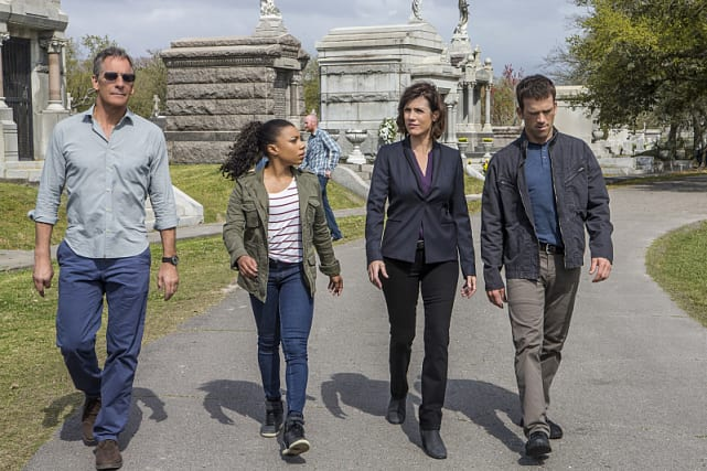 Funeral procession ncis new orleans