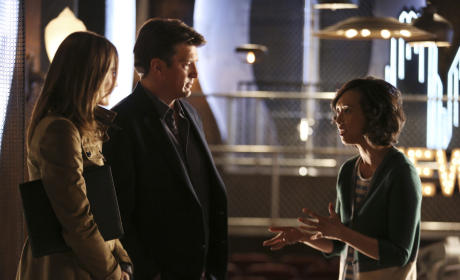 They Have a Fan - Castle Season 7 Episode 22