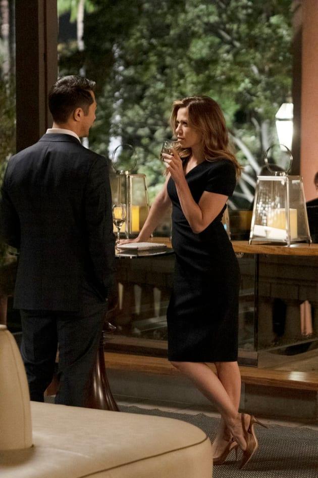 Getting Flirty - Tall  - Pearson Season 1 Episode 8