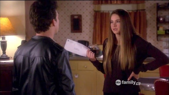 Shailene Woodley - Amy Juergens, Secret Life of the American Teenager