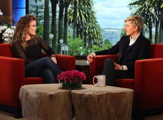 Alison Sweeney with Ellen