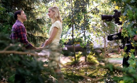 Serena and Owen in the woods - UnREAL Season 3 Episode 7