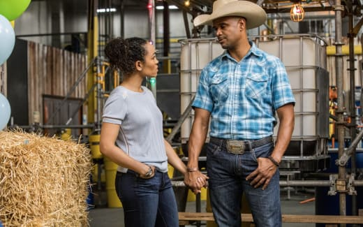 Charley and Remy Get Closer - Queen Sugar Season 2 Episode 12