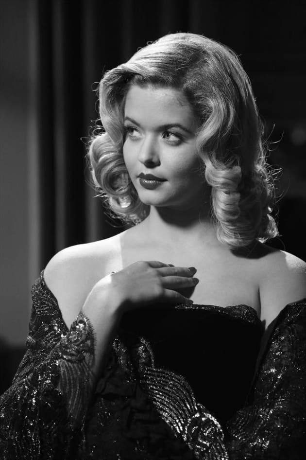 Alison in Black and White