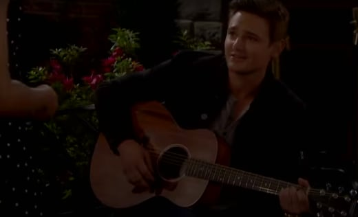 Johnny Romances Chanel - Days of Our Lives