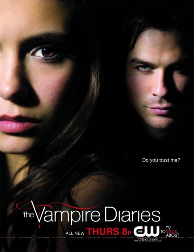 Damon and Elena Poster