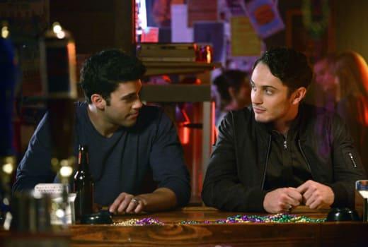 Josh and Aiden - The Originals Season 2 Episode 4